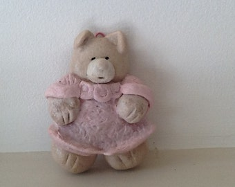 Salt Dough Ornament - Bella Bear
