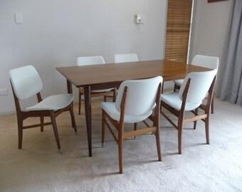 1960's Teak Dining Suite
