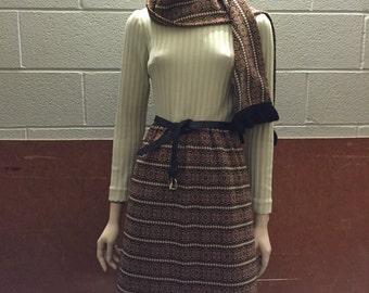 Vintage 1970's Career Dress