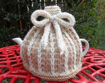 Hand Knitted Tea Cosy For 1 pint Pot