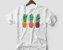 Pineapple Fruit Funny Hipster  Print Fashion Holiday Summer Mens T Shirt tumblr dope