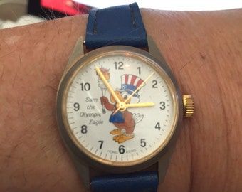 Sam the Olympic Eagle Watch