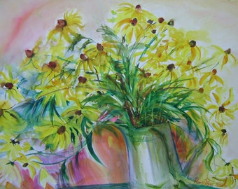 Big yellow bouquet