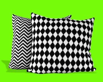 Diamond Mono Knit Cushion
