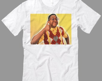 90's Steve Urkel Shirt, Family Matters Fan T Shirt, Premium Quality fabric, All Sizes from kid Sml - Adult 5XL