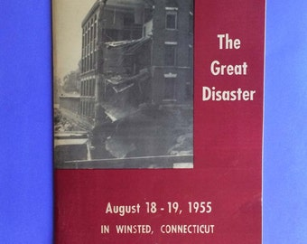 Winstead Connecticut  The Great Disaster 1955
