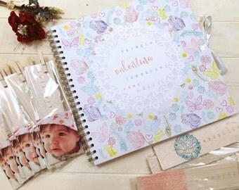 Signature book and photo album