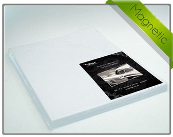 Magnetic Inkjet Photo Paper 5 x A4 Sheets