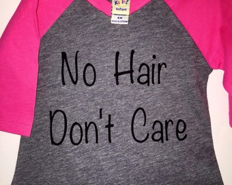 No hair don't care Top, dont care, hair, no hair