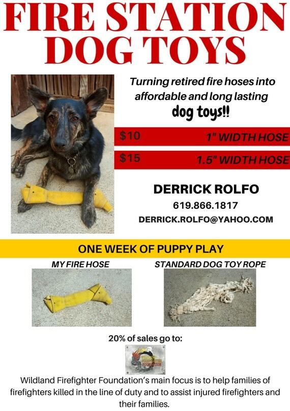 How To Make Fire Hose Material Dog Toys