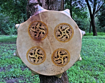20' Handcrafted Shaman drum (deer hided)