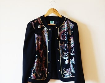 Vintage 80s Ornamental Jacket