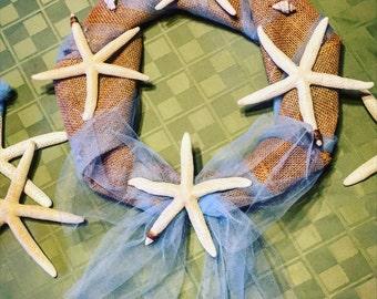 Seaside Starfish Wreath