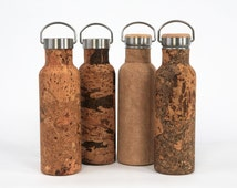 ReBOTTLE 750ml Stainless-Steel Water Bottle covered with Cork