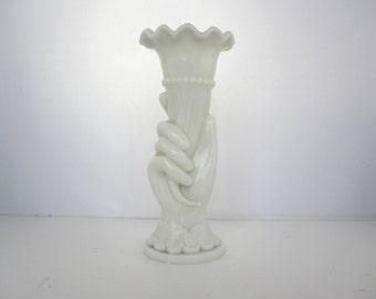 French opaline vase 1950