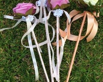 Flower fairy wands