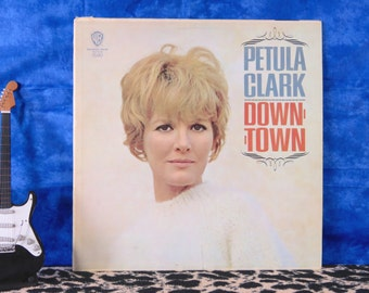 Petula Clark - Downtown, vintage LP