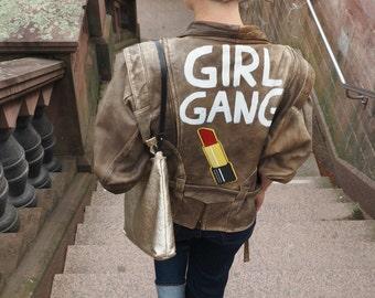 GIRL GANG leather jacket