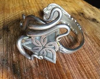 Vintage Sterling Fork Bracelet 58g