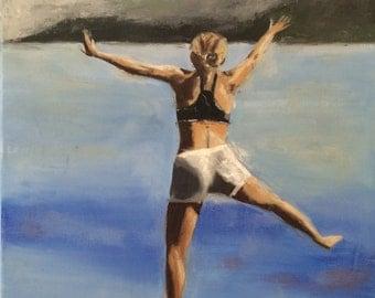 "16x20"" Oil Painting Figure Painting by Debi Sellinger"