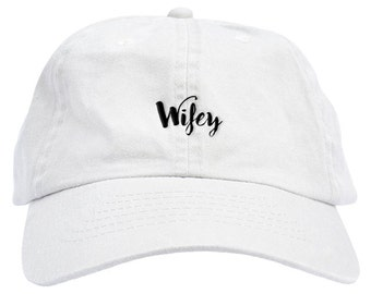 Wifey Dad Hat Baseball Cap Low Profile