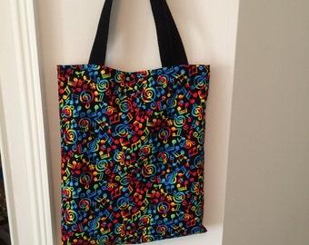 Music book bag - 7 fabric choices!