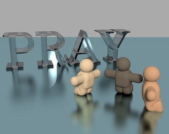 All men pray.