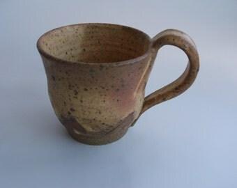 Large Rustic Stoneware Mug