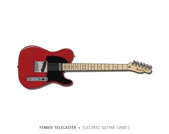Fender Telecaster print