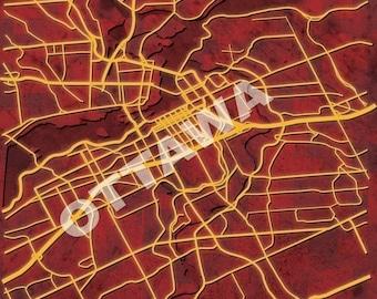 MAP OF OTTAWA