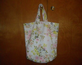 Upcycled Tote/Beach/Farmer's Market Bag
