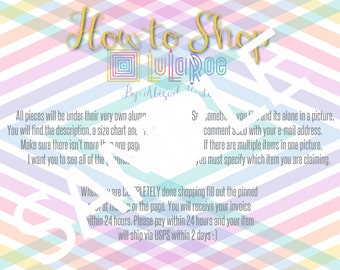 LuLaRoe How to Shop Graphic