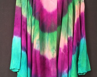 Tie Dyed Dress, one of a kind! Size L