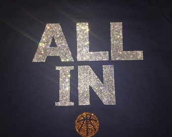 ALL IN hoodie! Have this in maroon and blue!!