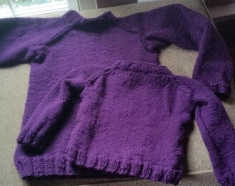 Mommy and Me Baby Sweater Set