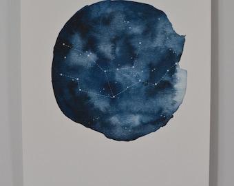 Constellation Series Print: Virgo