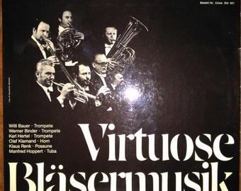 Muncher Blechblasersolisten - Virtuosi Blasermusik SM-631 Vinyl Record LP