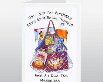 Scottish Birthday Card Messages WWBI65