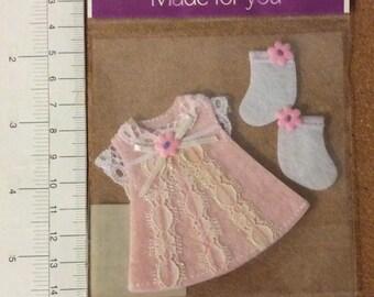 Pink Dress and Socks