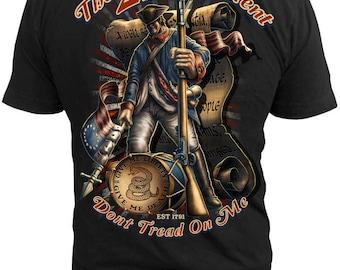 Black Ink Men's 2nd Amendment T-Shirt (MT620)
