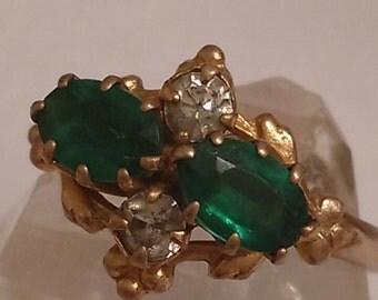 14k gold filled antique vintage gold ring