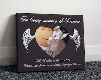 Personalised in memory keepsake heaven photo remembrance memorial quotes