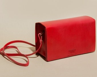 Boxy Bag - Red
