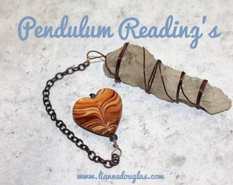 3 Question pendulum reading