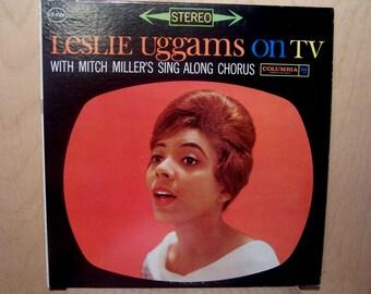 Leslie Uggams  On TV LP - Columbia Stereo CS 8506  w/ Mitch Miller Vg /Vg+