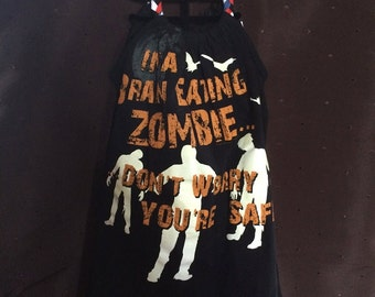 Zombies t-shirt dress
