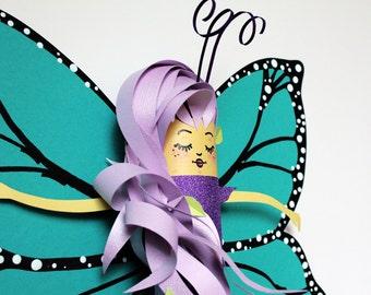 Brisa Butterfly Fairy Art