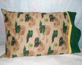 John Deere Pillowcase,  Made from 100% Cotton Material