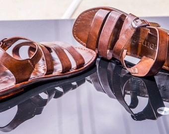 Handmade Men's Leather Sandals