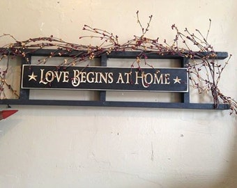 Love Begin At Home Ladder